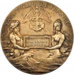 FRANCE. Gilt Silver Medal, 1907.