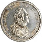 RUSSIA. Silver Ruble Pattern, 1804. Soho (Birmingham) Mint. Alexander I. PCGS Genuine--Environmental