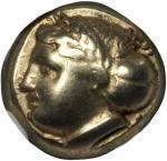 IONIA. Phocaea. EL Hekte (2.53 gms), ca. 387-326 B.C.