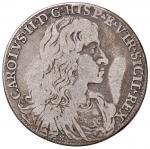 Italian coins;NAPOLI Carlo II (1674-1700) Mezzo ducato 1683 - Magliocca 9 AG (g 13.76) - MB;300