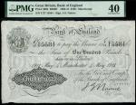 Bank of England, John Gordon Nairne (1902-1918), 100, Manchester, 4 May 1911, serial number Y/27 155