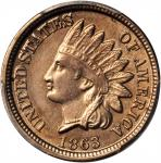 Lot of (3) Indian Cents. Unc Details (PCGS).