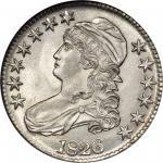 1826 Capped Bust Half Dollar. O-106a. Rarity-3. MS-64 (NGC).