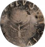 1652 Pine Tree Shilling. Large Planchet. Noe-5, Salmon 4-Di, W-720. Rarity-4. Without Pellets at Tru