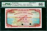1965年有利银行100元样钞,PMG66EPQ