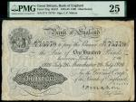 Bank of England, Cyril Patrick Mahon (1925-1929), 100, Manchester, 26 July 1936, serial number 57/Y