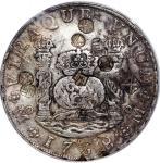 Mexico, silver 8 reales, 1738-Mo MF, (Calico-783), PCGS Genuine Chop Mark-XF Detail, #37910492.
