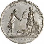 1779 John Stewart at Stony Point obverse cliche. As Betts-567. White metal. Original striking. Works