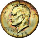 1972-S Eisenhower Dollar. Silver Clad. MS-68 (PCGS).