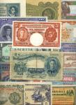 World Notes, a large group of c.270 banknotes, including Banca dItalia 50 lire, 10.8.1943, Mauritius