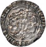 1464-70年英国4便士。爱德华四世。 GREAT BRITAIN. Groat (4 Pence), ND (1464-70). Edward IV. NGC EF-45.