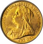 GREAT BRITAIN. 2 Pounds, 1893. PCGS MS-64.
