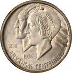 1936-S Arkansas Centennial. MS-66+ (NGC). CAC.