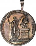 1808 Washington Benevolent Society medal. Musante GW-94, Baker-327, Julian RF-23. Silver. AU-55 (PCG
