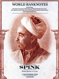 SPINK2020年11月伦敦-世界纸钞