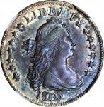 1805 Draped Bust Quarter. B-2. Rarity-2. AU-55 (NGC).