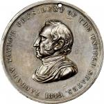 1849 Zachary Taylor Indian Peace Medal. Silver. Third Size. Julian IP-29, Prucha-47. Very Choice Ext