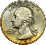 1953 Washington Quarter. MS-67 (PCGS). CAC.