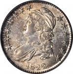 1822 Capped Bust Half Dollar. O 106-a. Rarity-3. MS-62 (PCGS).