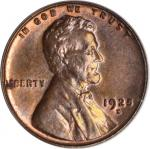 1925-S Lincoln Cent. MS-64 BN (PCGS).