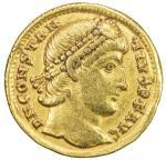 ROMAN EMPIRE: Constantius II, 337-361 AD, AV solidus (4.31g), Antioch, 355-361, RIC-172, C-126, Depe