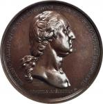 1776 (1863-1889) Washington Before Boston Medal. Philadelphia Mint Third Restrike. Dark Bronze. 67.9