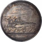 1846 The Mexican War / Loss of the Somers. Silver. 58 mm. By Charles Cushing Wright. Julian NA-24. U