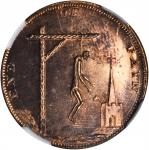 Great Britain--Middlesex. Undated (1790s) End of Pain Farthing Token. D&H-1110, W-8934. Copper. MS-6