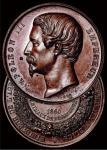 1860年法国拿破仑三世纪念银章