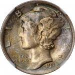 1921 Mercury Dime. MS-67 FB (NGC).