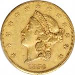 1854-S自由帽双鹰 Liberty Head Double Eagle PCGS XF 45