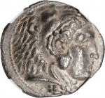 PTOLEMAIC EGYPT. Ptolemy I Soter. As satrap. 323-305 B.C. AR Tetradrachm, Sidon Mint. In the name of