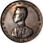 1871年拉玛五世18岁生日纪念银章。