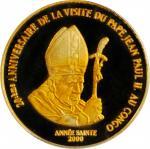 CONGO. Democratic Republic. 20 Francs, 2000. PCGS PROOF-68 Deep Cameo.