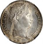 FRANCE. 5 Francs, 1812-B. Rouen Mint. Napoleon I. NGC MS-63.