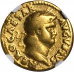 NERO, A.D. 54-68. AV Aureus (7.16 gms), Rome Mint, ca. A.D. 65-68.