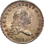 1795飘逸长发半美元 Flowing Hair Half Dollar PCGS MS 64