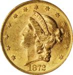 1872 Liberty Head Double Eagle. MS-60 (PCGS).