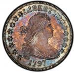 1797 Draped Bust Half Dollar. Overton-101a PCGS MS 66