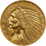 1911 $5 Indian. PCI MS62