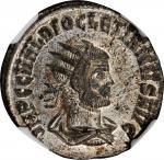 DIOCLETIAN, A.D. 284-305. BI Antoninianus (3.88 gms), Cyzicus Mint, 1st Officina, A.D. 290-292. NGC