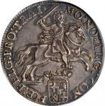 1784年荷兰乌得勒支1杜卡特。NETHERLANDS. Utrecht. Ducaton, 1784. PCGS AU-50 Gold Shield.