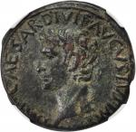 AUGUSTUS, 27 B.C.- A.D. 14. AE As (11.45 gms), Rome Mint, ca. A.D. 10-12.