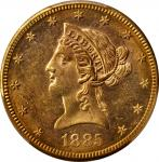1885-S Liberty Head Eagle. MS-62 (PCGS).