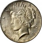 1926 Peace Silver Dollar. MS-66+ (PCGS). CAC.