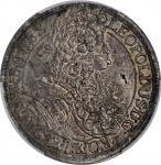 AUSTRIA. Taler, 1696. Vienna Mint. Leopold I. PCGS AU-55 Gold Shield.