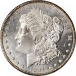 1891-CC Morgan Silver Dollar. MS-65 (ANACS). OH.