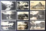 1930-40年代广西省梧州,柳州立鱼峰,广西大学,沐龙古渡口等相片一组9 枚. 品相及尺寸不一.