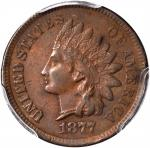 1877 Indian Cent. EF-45 (PCGS).