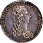 AUSTRIA. Batthyani. Taler, 1788. Vienna Mint. Ludwig. PCGS MS-62 Gold Shield.